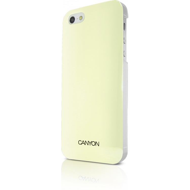 Image of Canyon Cna-i5c03w Iphone 5 Hard Cover Case met Stylus en Screen Protector Wit