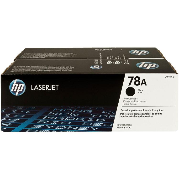 HP 78AD LaserJet Toner Zwart Dual Pack