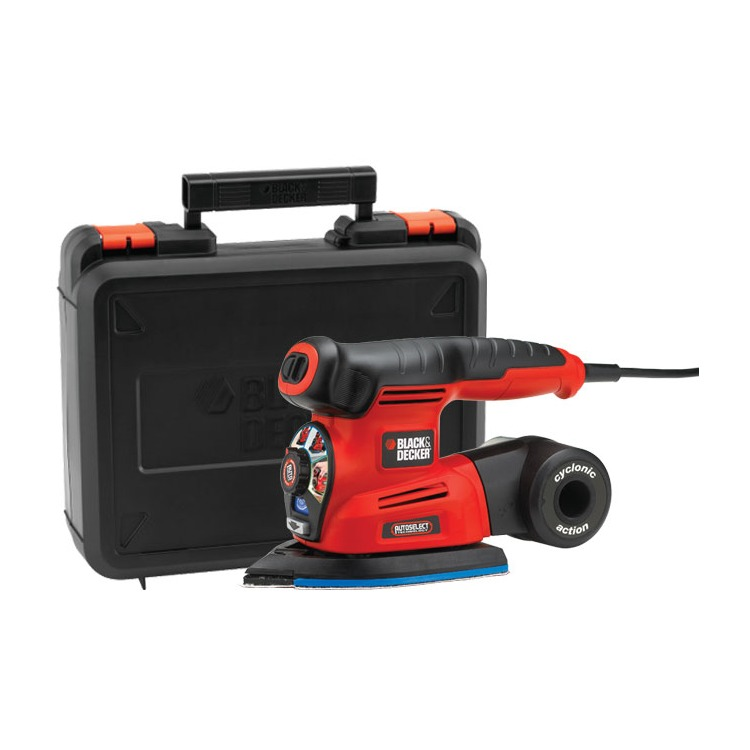 Black & Decker Schuurmachine KA280K Auto-Select