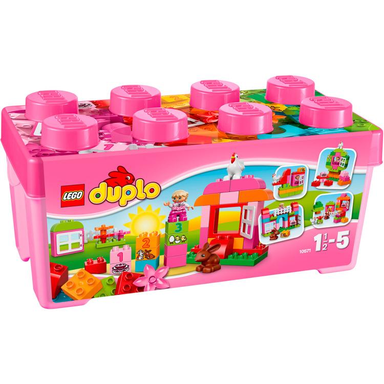 LEGO DUPLO Alles-in-één-doos voor meisjes 10571