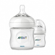 Image of Philips avent - fles natural, 125 ml scf690/17