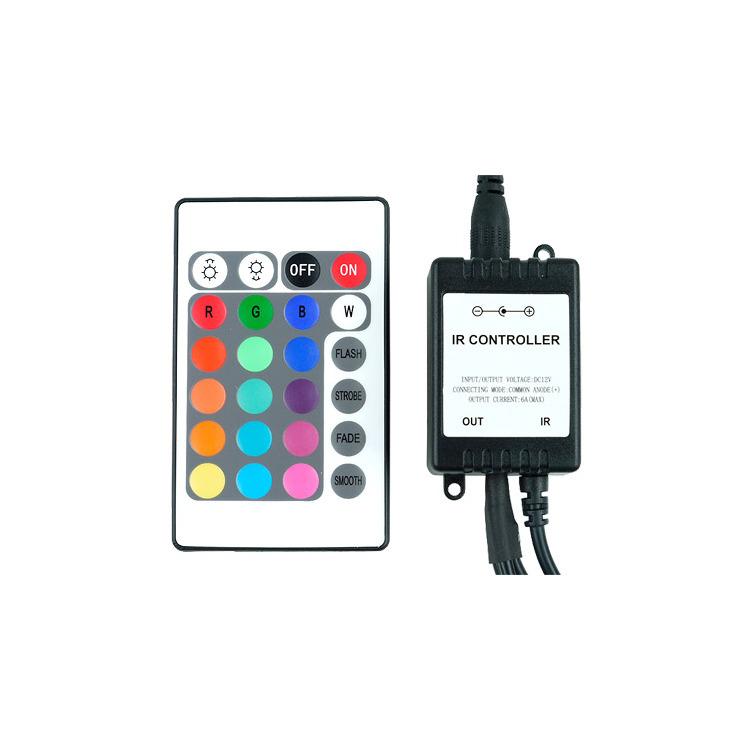 LED-Flexlight RGB controller met Ir-remote