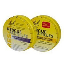Image of Rescue Pastilles Zwarte Bes Bach 50 Gram