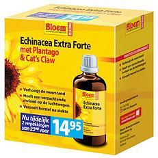 Image of Bloem Echinacea Extra Forte Met Plantago En Cats Claw Duo 2x100ml