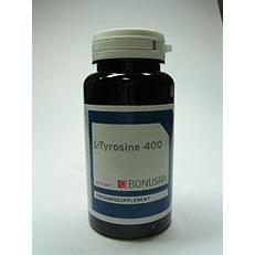 Image of Bonusan L Tyrosine 400 60Cp 60caps