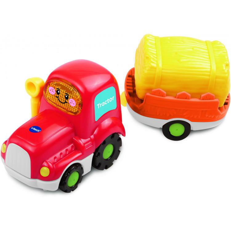 Image of Toet Toet Auto's Tom Tractor En Aanhanger