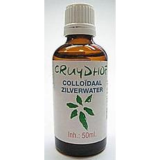 Cruydhof Colloïdaal Zilverwater - 50 ml - Voedingssupplement