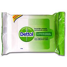 Image of Dettol Anti-bacteriele Desinfecterende Reinigingsdoekjes 15Stuks