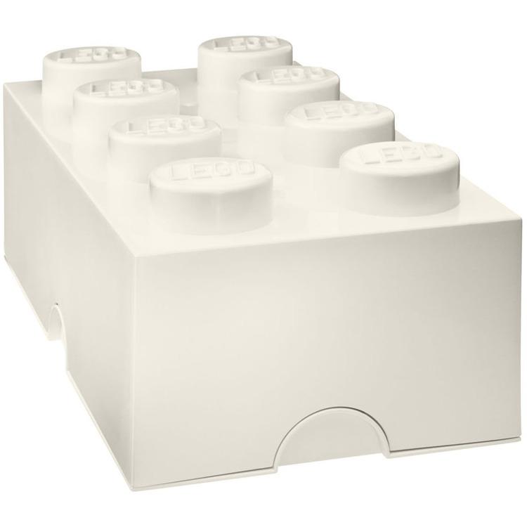 Lego Classic Lunchbox - Mini 8 - 4,6 x 9,2 x 4,3 cm - Wit