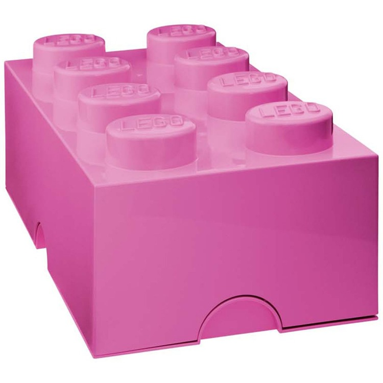 Lego Classic Lunchbox - Mini 8 - 4,6 x 9,2 x 4,3 cm - Fuchsia