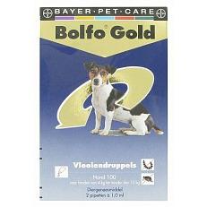 Image of Bolfo Gold Drup Hond 4-10KG 2st