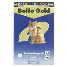 Image of Bolfo Gold Druppels Voor Kat 2st