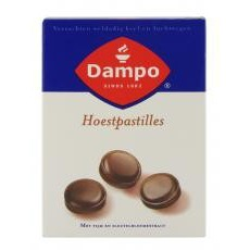 Image of Dampo Hoestpastilles 24past