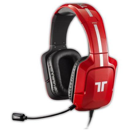 PC Tritton Pro+ True 5.1 Surround Headset rood