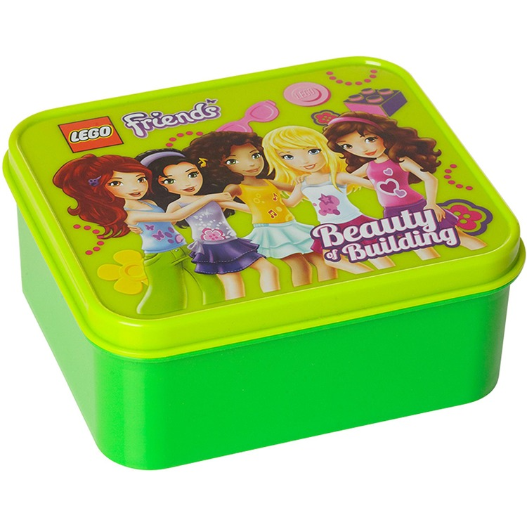 Lego Friends Lunchbox - Groen