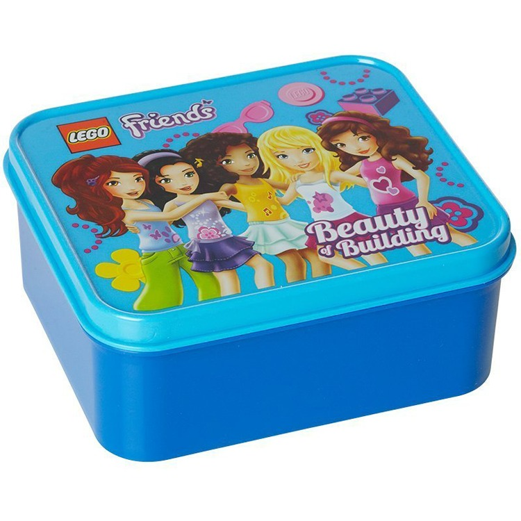 Lego Friends Lunchbox - Blauw