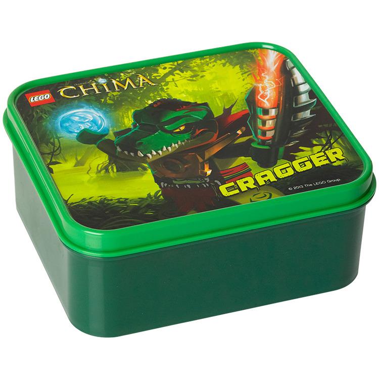 Lego Chima Lunchbox - Groen