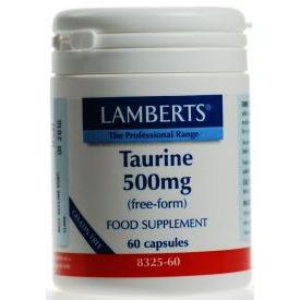 Lamberts Taurine 500 mg - 60 capsules