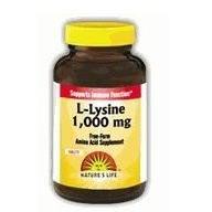 Nature L-Lysine 1000mg