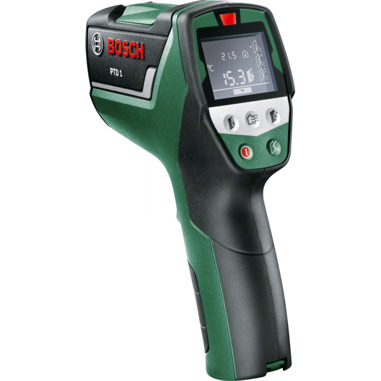 Image of Infrarood-thermometer Bosch PTD1 Optiek (thermometer) 10:1 -20 tot +200 °C Pyrometer, Dauwpuntscanner