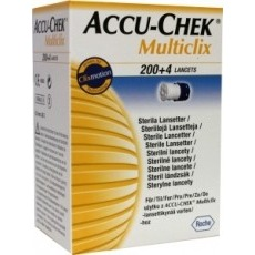 Image of Accu Chek Accu Chek Multi Click Lancet 204ST 204ST