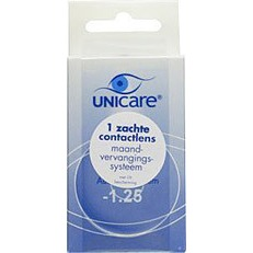 Image of Unicare Maandlens 1pack -1.25 Stuk