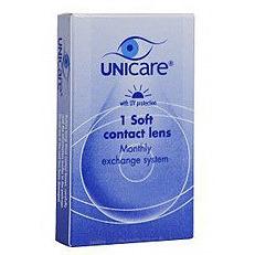 Image of Unicare Maandlens 1pack -2.50 Stuk