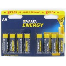 Varta Energy Type-AA Penlite Batterij 1,5volt 8stuks