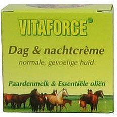 Vitaforce Paardenmelk Dag- & Nachtcrème - 50 ml - Dagcrème