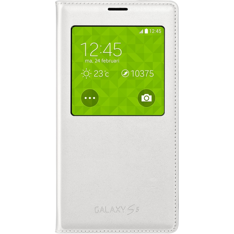 Galaxy S5 S View cover white
