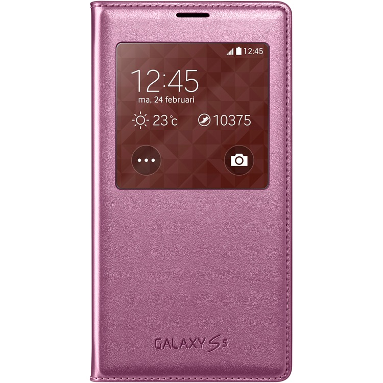 Samsung Galaxy S5 S View Cover Pink