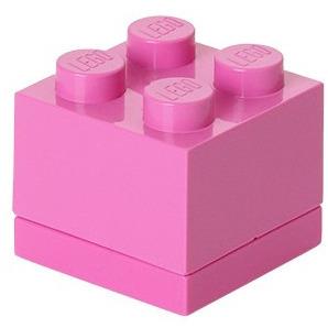 Lego Classic Lunchbox - Mini 4 - 4,6 x 4,6 x 4,3 cm - Fuchsia