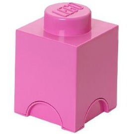 Lego Friends Opbergbox - Brick 1 - 12,5 x 12,5 x 18 cm - 1,2 l - Pink