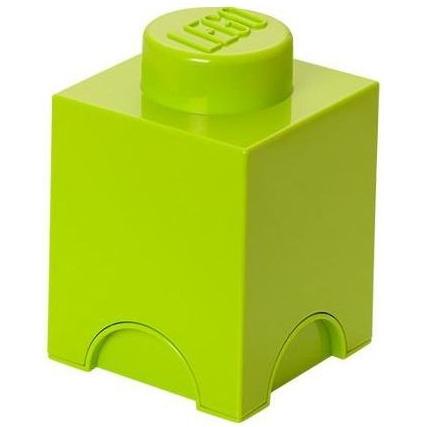 Lego Friends Opbergbox - Brick 1 - 12,5 x 12,5 x 18 cm - 1,2 l - Lime groen