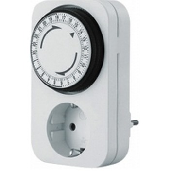 Image of 852.101 - analogue socket switch clock 852.101