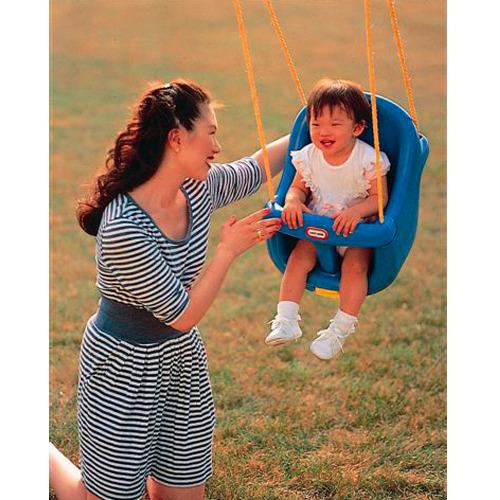 Image of Litt High Back Toddler Swing Little Tike