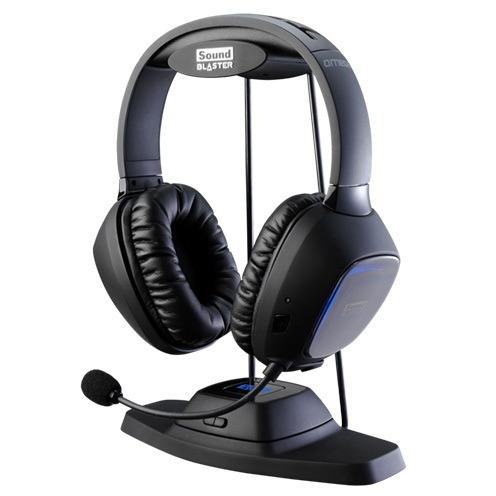 Creative TACTIC3D - Over-ear koptelefoon - Zwart
