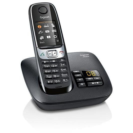 Gigaset C620A DECT Telefoon met antwoordapparaat Zwart