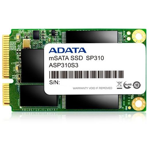 SSD 128GB ADATA    1,8 (4.6cm) mSATA   SP310 retail