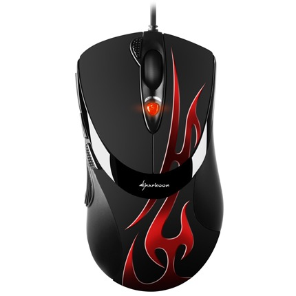 Sharkoon FireGlider - Gaming Muis