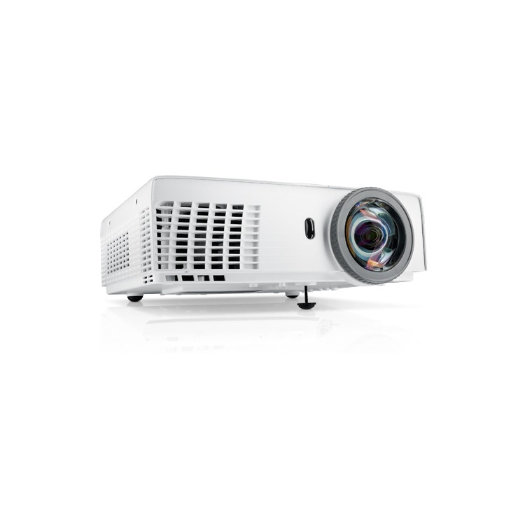 S320 Short-Throw Projector 3000ANSI XGA(1024x768) 2200:1 3.18kg screen size:31.45-300i inputs: 2xd-sub/15p 1xHDMI 1xS-Video 1xRCA