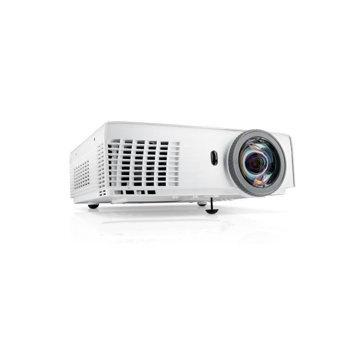 S320 Short-Throw Projector 3000ANSI XGA(1024x768) 2200:1 3.18kg screen size:31.45-300i inputs: 2xd-sub/15p 1xHDMI 1xS-Video 1xRCA