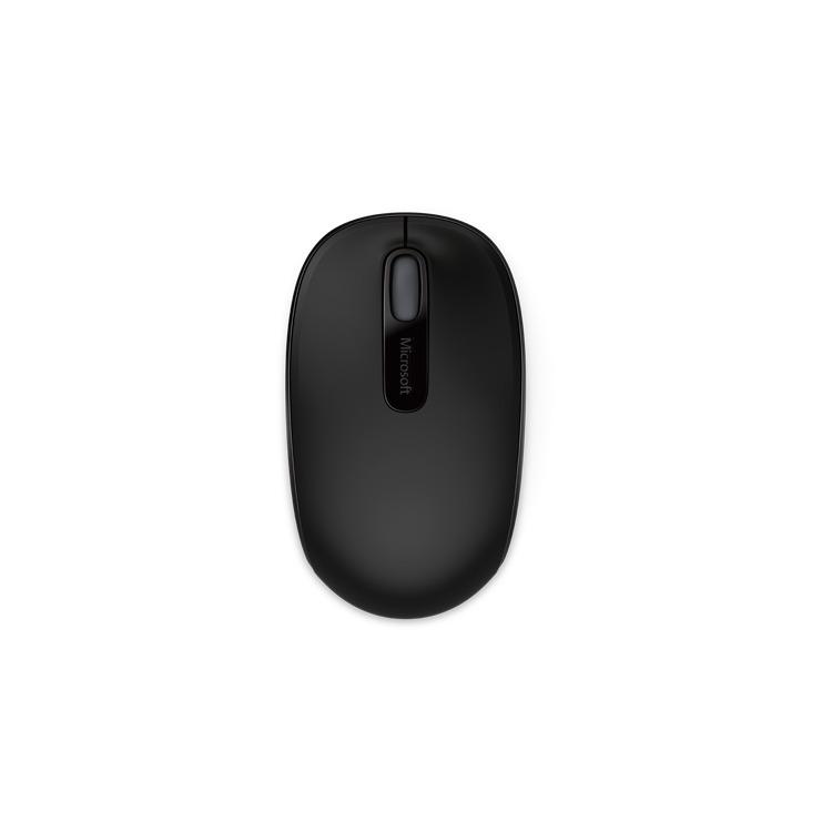 1850 Wireless Mobile Mouse Zwart