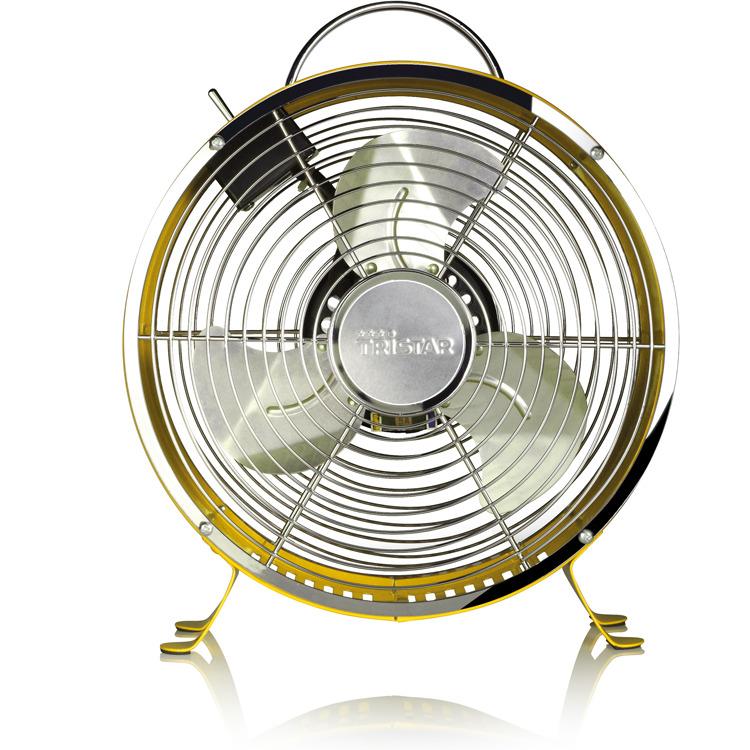 Tristar Retro Ventilator 25cm VE-5964 - Geel