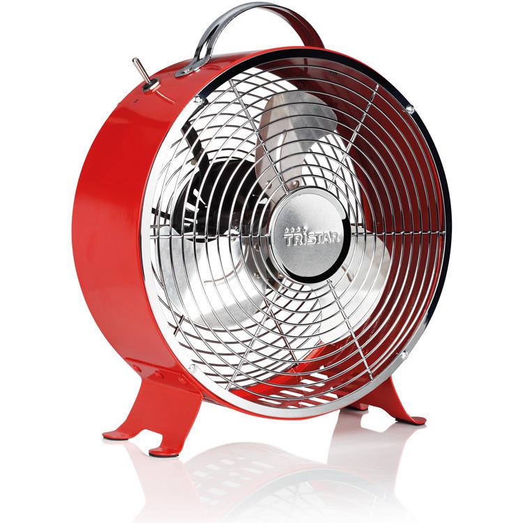 Tristar Retro Ventilator 25cm VE-5963 - Rood