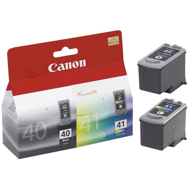 Canon PG-40 / CL-41 - Inktcartridge / Zwart / Kleur / Combopack