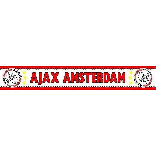 Image of Ajax Sjaal Rood Wit 3 Sterren
