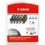 Canon CLI-8 Multi-Pack (BK/PC/PM/R/G)