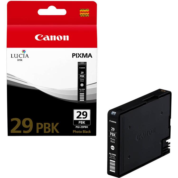 Canon PGI-29PBK Foto Zwart