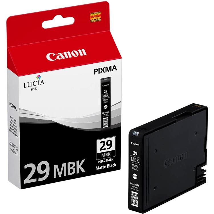 Canon PGI-29MBK Mat Zwart